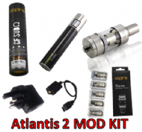 Aspire MOD KIT Subohm battery with Atlantis 2